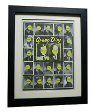 More details for green day+nimrod+poster+ad+rare original 1997+framed+express global ship