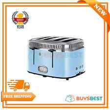 Russell Hobbs Retro 4-Slice Toaster - Blue - 21693