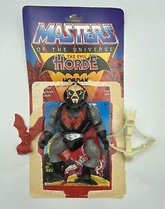 MASTERS OF THE UNIVERSE THE EVIL HORDE HORDAK ACTION FIGURE w/ MINI COMIC