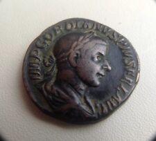 Gordiano III sestercios 241 ad moneda de bronce romano