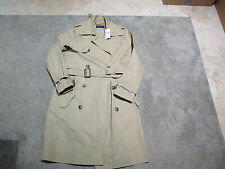 NEW Ralph Lauren Polo Trench Coat Womens Size 14 Brown Tan Over Coat Ladies $498