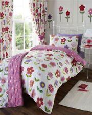 Sábanas y fundas de cama rosas sin marca de poliéster