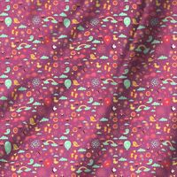 Gedruckte Ballon Muster Stoff Nähen Quilten Diy Stoff Meterware Kleid Stoff