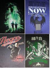 NEW Loot Crate Men's shirts ~ X-Files, Negan, Fantastic Beasts & Power Rangers
