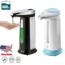 Touchless Hands Free Soap Dispenser IR Sensor Automatic Liquid Sanitizer US