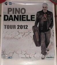 Locandina originale Pino Daniele - Tour 2012