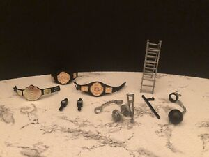 wwe/wrestling accessories 11 Items