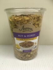Aurora Natural Products 2 pk of 15.5 oz Nut & Honey Granola - Exp 6/27/20