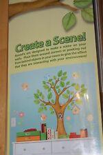 New ON THE TREE TOP WALL DECALS Baby Birds Birdhouse Stickers Kids Nursery Decor