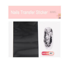 Shiny Women Nail Foil Gold Silver Laser Manicure Nail Art Transfer Sticker Tips