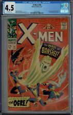 CGC 4.5 X-MEN #28 1ST APPEARANCE BANSHEE 1967 OW PAGES
