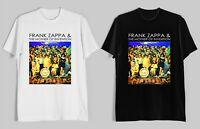 FRANK ZAPPA AND THE MOTHERS OF INVENTION Men's Black White T-Shirt Size S-2XL
