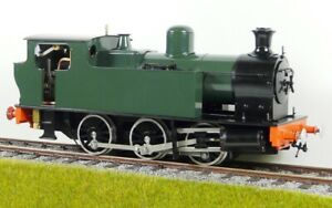 Accucraft  S32-14A Kerr Stuart Victory 0-4-0, GWR Grün, Live Steam, 1:32 / 45 mm