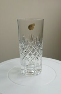 RCR Leaded Hand Cut Crystal Highball Glass 340ml, excellent item & condition.