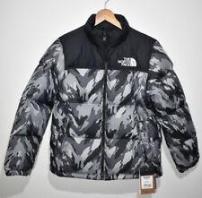 The North Face Retro 1996 Nuptse 700 Camo Black Grey Puffer Jacket YOUTH XL BNWT