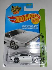 HOT WHEELS JAMES BOND 007 LOTUS ESPRIT S1 HW WORKSHOP 219/250 NEW FOR 2015