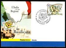 Italy 2004: Basilicata-Official Philatelic Postcard Poste Italiane