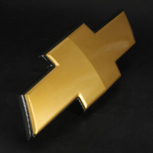 Chevrolet Avalanche Tahoe Suburban Gold Bow Tie Front Grille Emblem new OEM