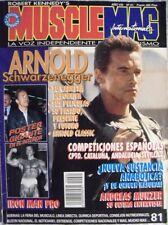 Revista española ''MuscleMag'' - Especial Arnold Schwarzenegger (1996)