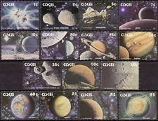 Ciskei 1991 Mi 192-206 Zonnestelsel, Solar System MNH