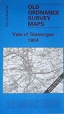 OLD ORDNANCE SURVEY MAPS VALE OF GLAMORGAN & MAP St Donat's  1904 Sheet 262 New