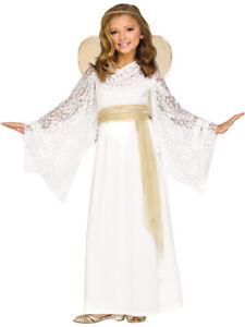 Little Heavenly Angel Angelic Miss Girl's Costume