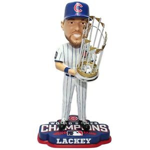 John Lackey Chicago Cubs 2016 World Series Bobblehead MLB