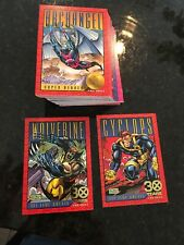 X-MEN SERIES II Collector Tin-FACTORY SEALED CASE OF 4 Tin sets