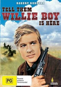 Tell Them Willie Boy Is Here DVD - Katherine Ross, Robert Blake, Robert Redford