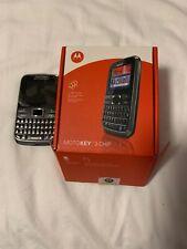 Motorola Motokey 3-Chip Ex117 - Black (Unlocked) Cellular Phone