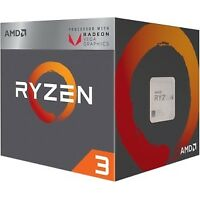 NEW! Amd Ryzen 3 2200G Quad-Core 4 Core 3.50 Ghz Processor Socket Am4 Retail Pac