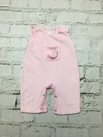 Baby Girl's Baby Mac All-in-One Pink Sleeveless 3-6 Months