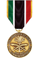 Liberation Of Kuwait Commemorative Medal
