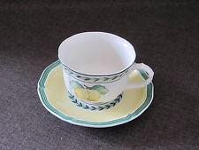 FRENCH GARDEN  Teetasse 2-tlg. unbenutzt mehr verf.  VILLEROY&BOCH V&B