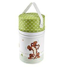 KEEEPER Isoliertasche für Babyflaschen Winnie Dekor 10 X 21 Cm Pola weiß