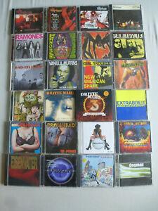 """CD-PAKET """"25 x PUNK & DEUTSCH"""" Konvolut Bundle Dritte Wahl Bad Religion"""