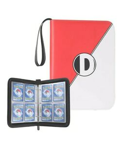 D DACCKIT Carrying Case Binder Compatible with Pokemon Card, Holds Up to400cards