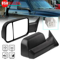 Latest Style Tow Mirrors for 98-01 Dodge Ram 1500 98-02 2500 3500 Power Heated