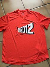 Sportshirt Laufen Herren Nike Dri fit Größe L, DM 2012 Leichtathletik DLV