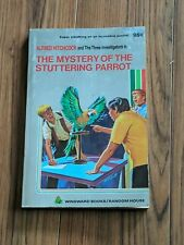 THREE INVESTIGATORS #2 MYSTERY OF STUTTERING PARROT 1ST RARE WINDWARD SILVERBACK