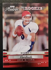 2002 Playoff Prestige Rookie - JOSH MCCOWN - Arizona Cardinals #189