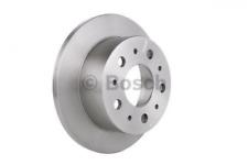 2x Bremsscheibe für Bremsanlage Hinterachse BOSCH 0 986 479 066