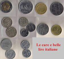 Monete Repubblica Italiana dal 1946 al 2001 - Lotto di 15 monete circolate