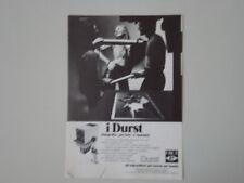 advertising Pubblicità 1972 INGRANDITORE DURST M 301