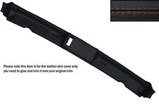 RED STITCH TOP ROOF PANEL SKIN COVER FITS BMW E30 3 SERIES 84-93 CONVERTIBLE