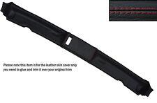 RED Cuciture Top tetto apribile pelle copertura Adatta per BMW E30 3 SERIES 84-93 CONVERTIBILE
