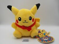 Pikachu A0909 Pokemon Center 2008 10th Anniversary Pokedoll Plush Toy Doll Japan