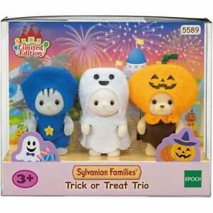 Sylvanian Families Trick or Treat Trio - Halloween - 5589    UK Seller