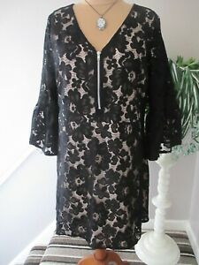 SIMPLY BE BLACK LACE DRESS SIZE 26