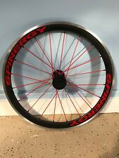 Spinergy Stealth Handcycle Drive Wheel (650c- Non Disc) Red Spokes